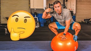 Download 5 STABILITY BALL CORE EXERCISES That Will Make Other People STARE 😳 Video