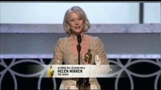 Download Helen Mirren winning Best Actress for The Queen Video