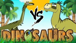 Download Dinosaur Cartoons for Children | Elaphrosaurus & More | Learn Dinosaur Facts with I'm A Dinosaur Video