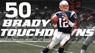 Download All 50 Tom Brady Touchdown Passes from his 2007 Season! | #CountdownToKickoff | NFL Highlights Video