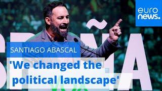 Download Vox party leader Santiago Abascal: 'We changed the political landscape' Video