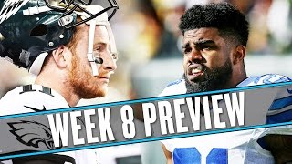 Download NFL Week 8 preview: Zeke Elliott's pantsless interviews are an inspiration | Uffsides Video