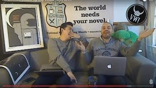 Download NaNoWriMo Double-Up Day Virtual Write-in #1 Video