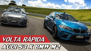 Download AUDI S3 X BMW M2 - VOLTA RÁPIDA COM RUBENS BARRICHELLO # 86 | ACELERADOS Video