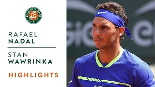 Download Rafael Nadal v Stan Wawrinka Highlights - Men's Final 2017 I Roland-Garros Video