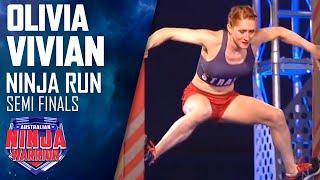 Download Ninja run: Olivia Vivian (Semi final) | Australian Ninja Warrior 2018 Video