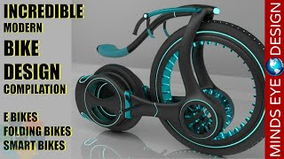 Download INCREDIBLE MODERN BIKE DESIGN COMPILATION - CRAZY & COOL BIKES 🚲 Video