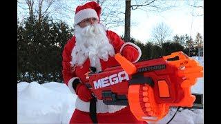 Download Nerf War: Santa Claus Hunt Video