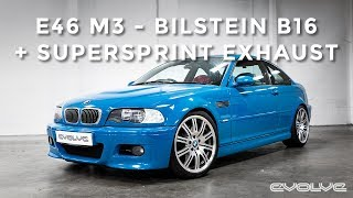 Download E46 M3 - Bilstein B16 + Supersprint Exhaust Install & Exhaust Sound Video