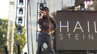 Download Hailee Steinfeld Covers Justin Bieber's ″Love Yourself″ at L.A. Pride Festival Video