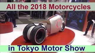 Download All the 2018 motorcycles in Tokyo Motor Show Video