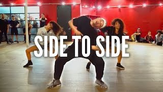 Download ARIANA GRANDE - Side To Side ft. Nicki Minaj | Kyle Hanagami Choreography Video