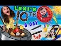 Download Lexi's 10th Birthday Party! FONDUE POOL CELEBRATION (FUNnel Vision Vlog w/ Presents Haul) Video