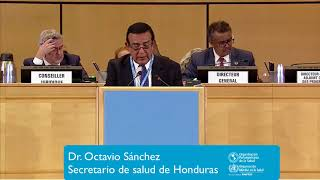 Download Dr. Octavio Sánchez, Secretario de salud de Honduras Video