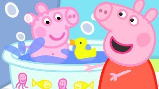 Download Peppa Pig Official Channel   Baby Alexander's Bath Time with Peppa Pig! Video
