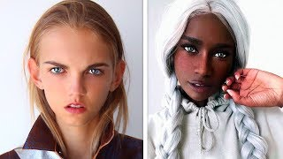 Download 10 UNUSUAL PEOPLE WITH UNIQUE FEATURES. BEAUTIFUL PEOPLE Video
