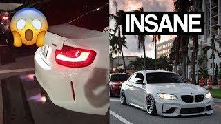 Download LOUD BMW M2 SHOOTS MASSIVE FLAMES!! Video