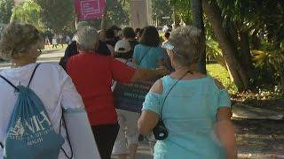 Download Women's March in D.C. echoed in Naples Video