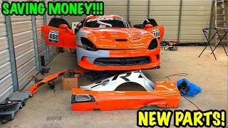 Download Rebuilding A Wrecked 2014 Dodge Viper TA ″TIME ATTACK″ PART 5 Video
