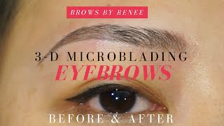 Download 3D Microblading Eyebrows - Before | After Video