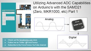 Download Utilizing Advanced ADC Capabilities on Arduino's with the SAMD21 (Zero, MKR1000, etc) Part 1 Video