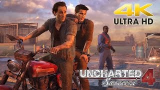 Download 4K Capture Test: PS4 Pro - Uncharted 4: A Thief's End - @ 4K 2160p HD ✔ Video