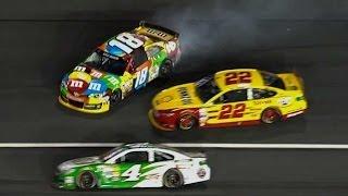 Download NASCAR | Kyle Busch crashes at Charlotte Video