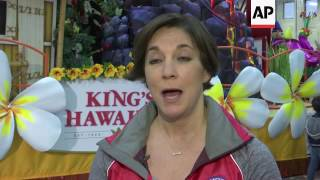 Download Girl Scouts, 'Aloha Spirit' Among Macy's Thanksgiving Day Parade floats Video