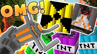 Download EPIC MODDED TNT WARS (NUKE TNT, CHEMICAL TNT, VOLCANO TNT) - MODDED Minigame Video