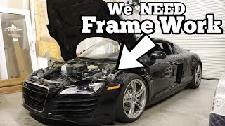 Download Here's Why My Cheap Audi R8 was TOTALED! Major Factory Flaw Made my R8 Salvage! Video