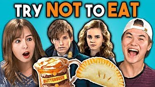 Download Try Not To Eat Challenge - Harry Potter Food | Teens & College Kids Vs. Food Video