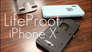 Download Ultimate WaterProof Protection! - Lifeproof Fre Case - iPhone X - Hands on Review Video