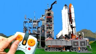 Download Countdown and launch of big Lego Space Shuttle Video