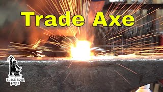 Download Forging a trade axe or tomahawk part 1 - blacksmithing for beginners Video
