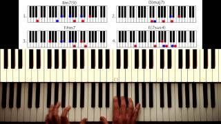 Download How to play: Get Lucky - Daft Punk. Original Piano lesson. Tutorial by Piano Couture. Video