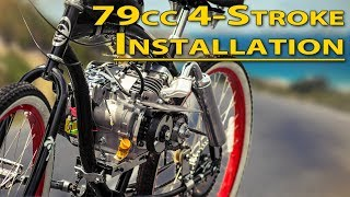 Download How To: Installation Guide - 79cc 4-Stroke Bicycle Engine Kit Video