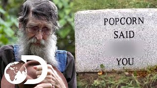 Download Legend JB Visits Popcorn's Grave | Moonshiners Video