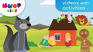 Download Three Little Pigs, Gingerbread Man, Great Turnip | Fairy Tales + Compilation Video