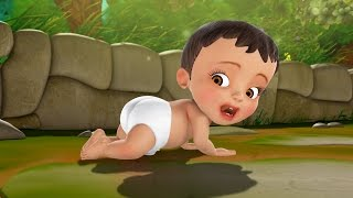 Download சின்னப் பாப்பா வீதியில் | Tamil rhymes for Children | Infobells Video