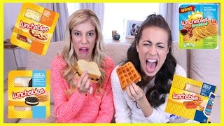 Download Tasting Gross Lunchables (w/ Colleen Ballinger Evans and Rebecca Zamolo) Video