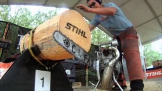 Download 2012 Mid-Atlantic Pro Qualifier: Hot Saw Lumberjack Competition Video