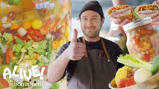 Download Brad Makes Giardiniera (Italian Pickle Relish) | It's Alive | Bon Appétit Video
