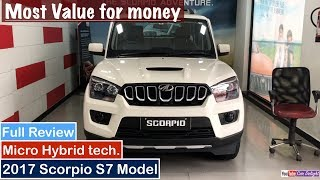Download 2017 Mahindra Scorpio S7 Model Interior,Exterior and Features Review Video