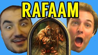 Download [Hearthstone] STREAMERS REACT TO RAFAAM (ft. Kripparrian, Amaz, Day9, Kibler, Savjz, Forsen) Video