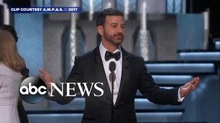 Download Oscars host Jimmy Kimmel's funniest moments Video