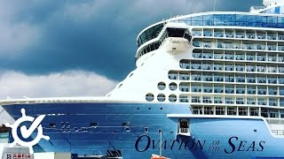 Download Ovation of the Seas: Rundgang im Dock Video
