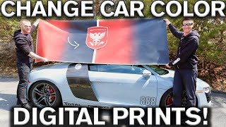 Download Change Car Color with Digital Prints Video