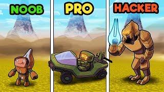 Download Minecraft - HALO WARS CHALLENGE! (NOOB vs PRO vs HACKER) Video
