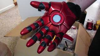 Download Unboxing review Joetoys Iron Man MK43 costume armor part 2 Video