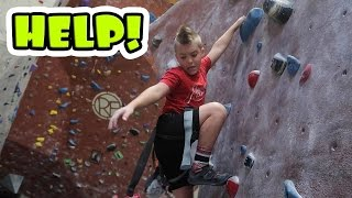 Download KID GOES ROCK CLIMBING! Video
